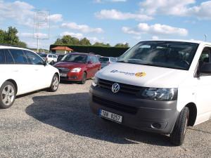 Parkování R7 - parkování u letiště Praha
